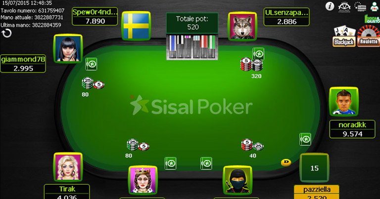 migliori bonus poker sisal su bonusvip