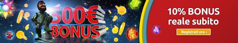 Merkur Win Bonus di Benvenuto casino' su BonusVip