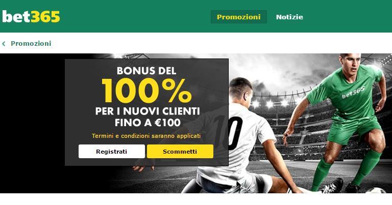 Bet65 Bonus di Benvenuto scommesse sportive su BonusVip