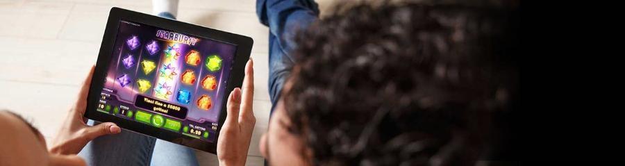 Unibet - Primo accesso Mobile 10Free Spin Starburst su BonusVip